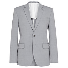 Buy Reiss Woodland Lightweight Blend Blazer, Light Blue Online at johnlewis.com