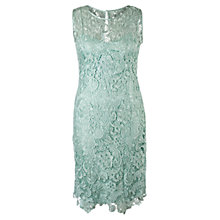 Buy Chesca Lace Shift Dress, Opal Online at johnlewis.com