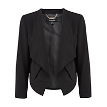 Buy Chesca Montique Soft Suiting Jacket, Black Online at johnlewis.com