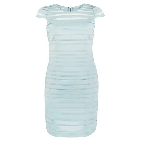 Buy Chesca Tapework Mesh Dress, Opal Online at johnlewis.com