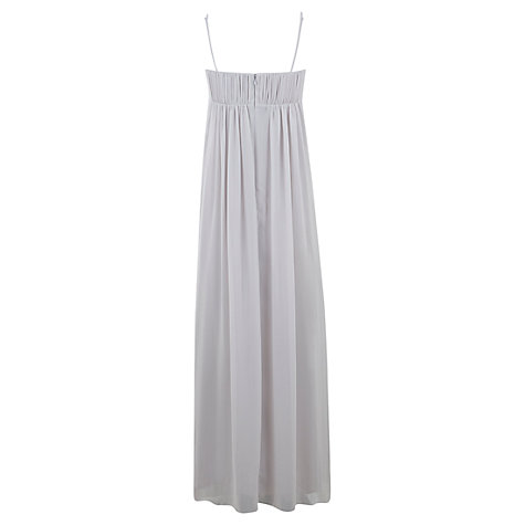 Buy Mint Velvet Bela Print Maxi Dress, Grey Online at johnlewis.com