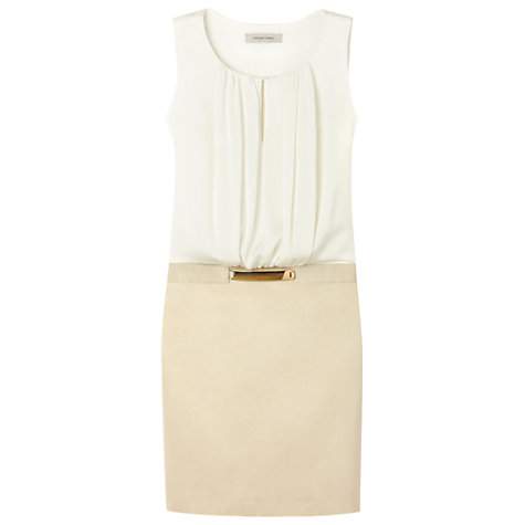 Buy Gérard Darel Toned Dress, Beige Online at johnlewis.com