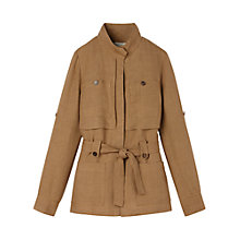 Buy Gérard Darel Linen Jacket, Taupe Online at johnlewis.com