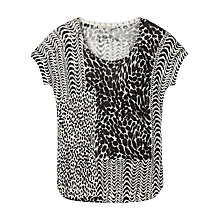 Buy Gérard Darel Linen Top, Black Online at johnlewis.com
