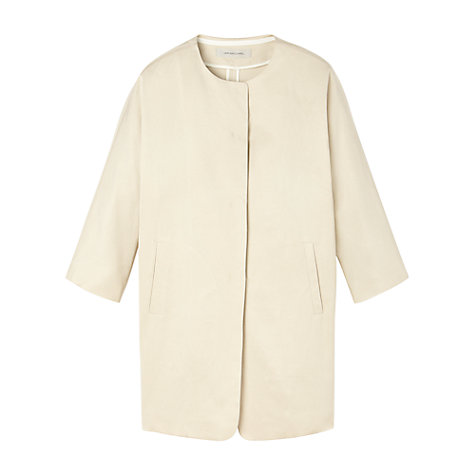 Buy Gérard Darel Ottoman Coat, Beige Online at johnlewis.com
