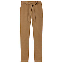 Buy Gérard Darel Linen Trousers, Taupe Online at johnlewis.com