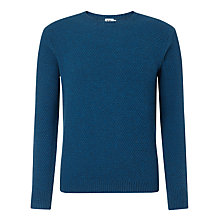 Buy Kin by John Lewis Double Moss Knit Crew Neck Jumper Online at johnlewis.com