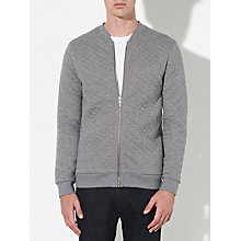 Buy Kin by John Lewis Quilted Jersey Bomber Jacket Online at johnlewis.com