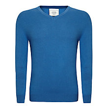 Buy John Lewis Made in Italy Cotton Cashmere V-Neck Jumper Online at johnlewis.com