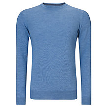 Buy John Lewis Italian Merino Wool Crew Neck Jumper Online at johnlewis.com