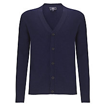 Buy John Lewis Made in Italy Merino Wool and Cashmere Cardigan, Navy Online at johnlewis.com