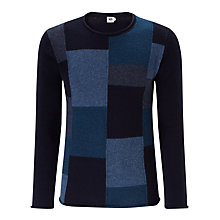 Buy Kin by John Lewis Patchwork Self Start Jumper Online at johnlewis.com