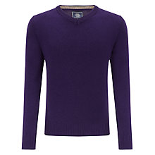 Buy John Lewis Made in Italy Merino Cashmere V-Neck Jumper Online at johnlewis.com