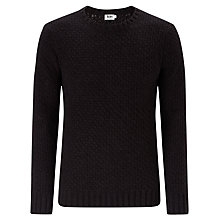 Buy Kin by John Lewis Chunky Basket Weave Crew Neck Jumper Online at johnlewis.com