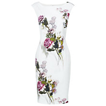 Buy Phase Eight Ida Rose Dress, Oyster Online at johnlewis.com