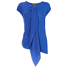 Buy Phase Eight Thea Silk Asymmetric Top, Periwinkle Online at johnlewis.com