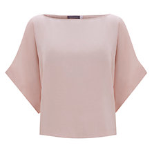 Buy Mint Velvet Square Cut Top, Peach Online at johnlewis.com