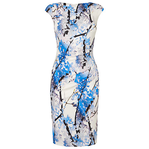 Buy Phase Eight Edith Blossom Dress, Ivory Online at johnlewis.com
