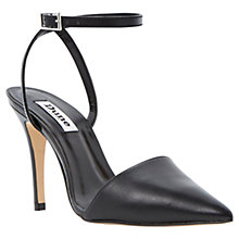 Buy Dune Pointed Toe Two-Part Heeled Leather Court Shoes Online at johnlewis.com