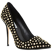 Buy Dune Bethanie Pointed High Heel Leather Court Shoes Online at johnlewis.com