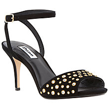 Buy Dune Hepburn Studded Stiletto High Heeled Sandals Online at johnlewis.com