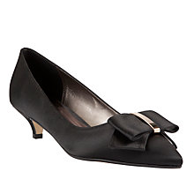 Buy John Lewis Farrah Occasion Court Shoes, Black Online at johnlewis.com