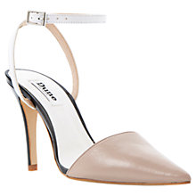 Buy Dune Pointed Toe Two-Part Heeled Court Shoes Online at johnlewis.com