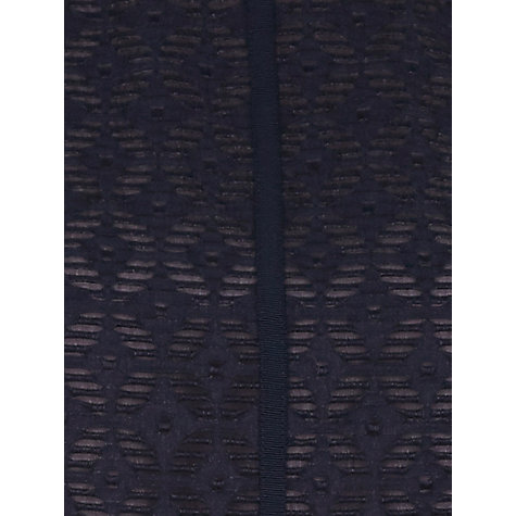 Buy Planet Jacquard Shift Dress, Navy Online at johnlewis.com