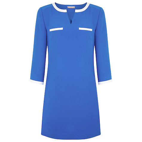 Buy Planet Tipped Tunic Top, Bright Blue Online at johnlewis.com