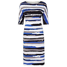 Buy Planet Striped Tunic Dress, Multi Dark Online at johnlewis.com
