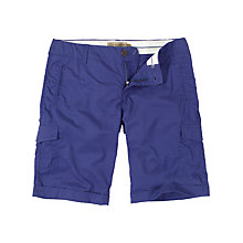 Buy Fat Face Combat Turn-Up Shorts, Jay Blue Online at johnlewis.com