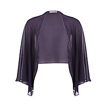 Buy Jacques Vert Soft Cover Up, Dark Purple Online at johnlewis.com