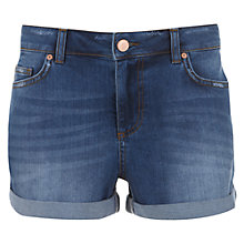 Buy Mint Velvet Indigo Denim Shorts, Blue Online at johnlewis.com