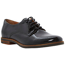 Buy Dune Laboux Leather Loafer Shoes, Black Online at johnlewis.com