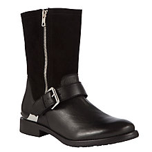 Buy Somerset by Alice Temperley Lexham Leather Biker Boots Online at johnlewis.com