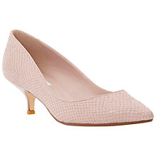 Buy Dune Alfa Snakeskin Print Court Shoes Online at johnlewis.com