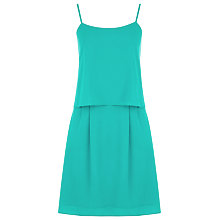 Buy Kaliko Cami Layer Dress, Green Online at johnlewis.com
