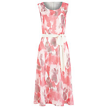 Buy Jacques Vert Pansy Prom Dress, Multi Pink Online at johnlewis.com