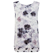 Buy Kaliko Jahan Print Layer Top, Grey/Multi Online at johnlewis.com