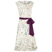 Buy Jacques Vert Botanical Prom Dress, Gold Online at johnlewis.com