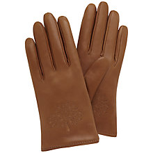 Buy Mulberry Tree Leather Gloves Online at johnlewis.com