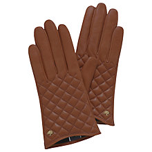 Buy Mulberry Quilted Leather Gloves Online at johnlewis.com