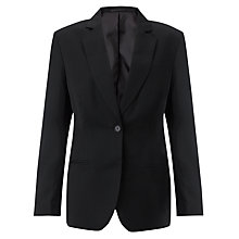 Buy John Lewis 6th Form Girls' Suit Jacket, Black Online at johnlewis.com