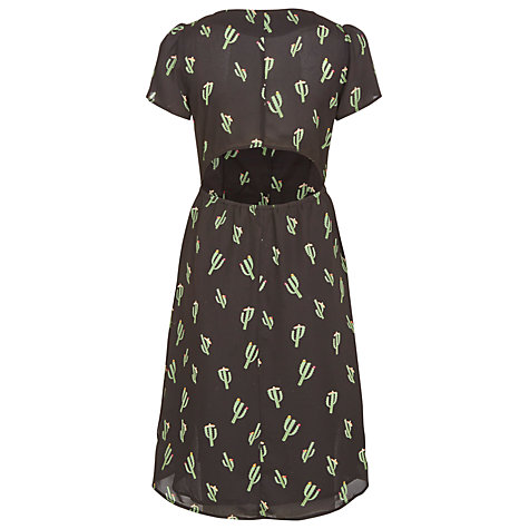 Buy Sugarhill Boutique Cactus Dress, Black Online at johnlewis.com