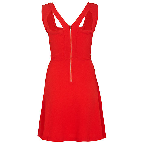 Buy Sugarhill Boutique Maria Dress, Red Online at johnlewis.com