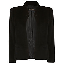 Buy Jaeger Cropped Jacket, Black Online at johnlewis.com
