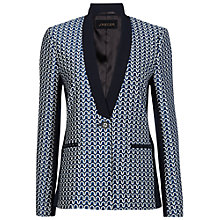 Buy Jaeger Jacquard Panel Jacket, Multi Online at johnlewis.com
