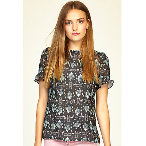 Buy Sugarhill Boutique Miami Top, Black Online at johnlewis.com