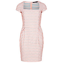 Buy Sugarhill Boutique Peacock Dress, Peach Online at johnlewis.com