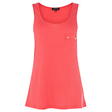 Buy Warehouse Button Pocket Vest Online at johnlewis.com